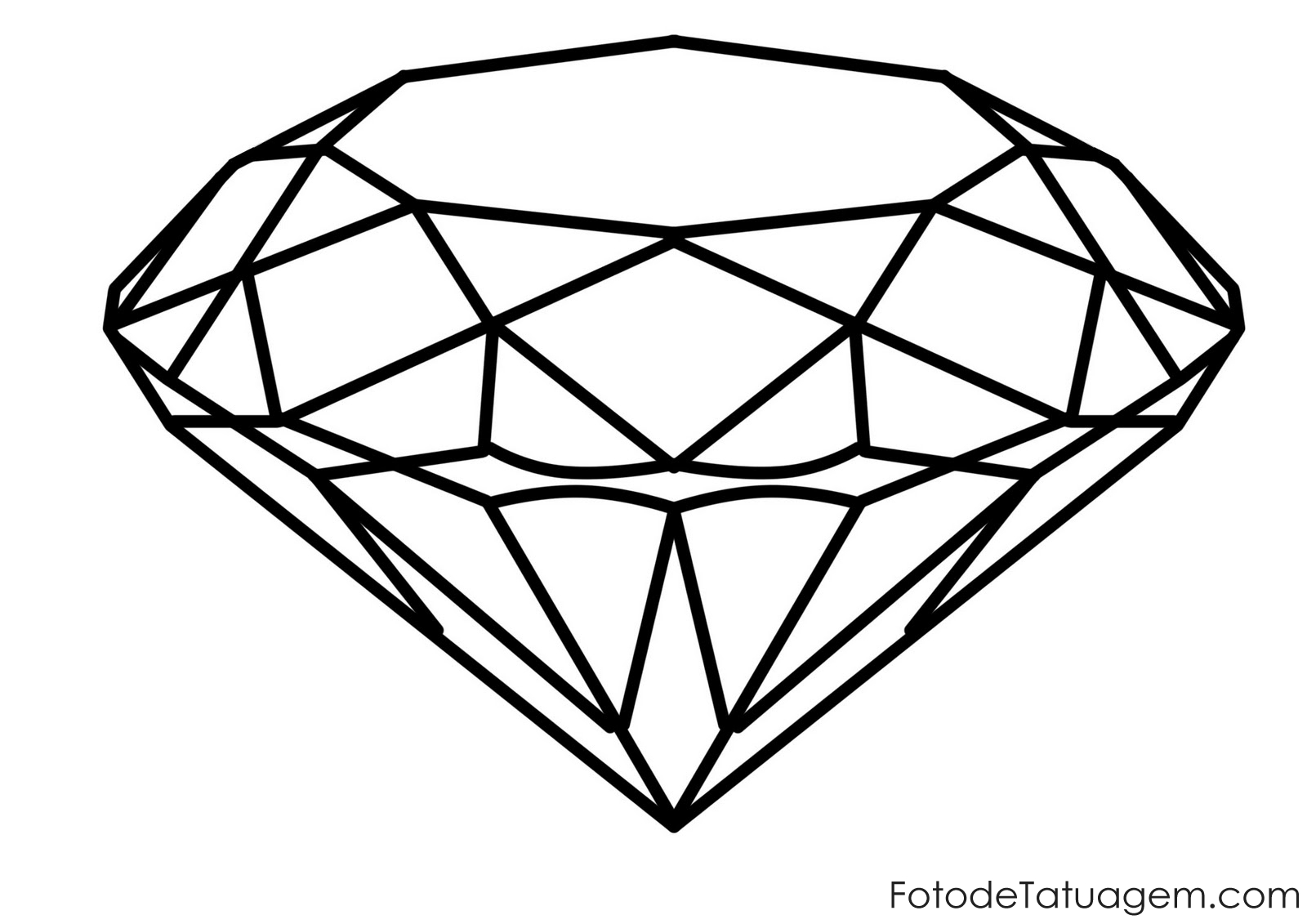 Heart Diamond on Shapes That Are Large